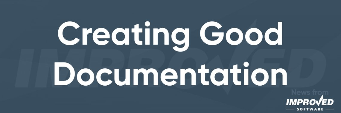 Creating good documentation header