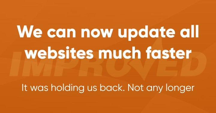 Rapid update process